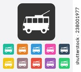 icon transport vehicle | Shutterstock .eps vector #238001977