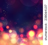 colorful bokeh background.... | Shutterstock .eps vector #238064137