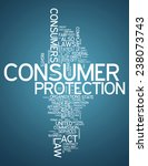 word cloud with consumer...   Shutterstock . vector #238073743