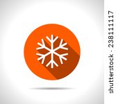 orange xmas icon | Shutterstock .eps vector #238111117