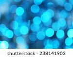 blue defocused lights background   Shutterstock . vector #238141903