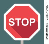 stop sign | Shutterstock .eps vector #238149907