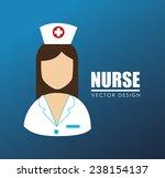 medical design over blue...   Shutterstock .eps vector #238154137