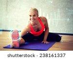 fitness  sport  training ... | Shutterstock . vector #238161337