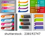 colorful modern text box... | Shutterstock .eps vector #238192747