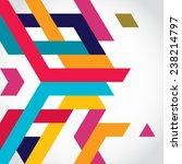 abstract geometric shape... | Shutterstock .eps vector #238214797