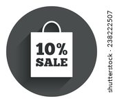 10  sale bag tag sign icon....