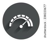 tachometer sign icon....