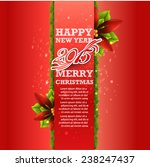 christmas and new year. vector... | Shutterstock .eps vector #238247437
