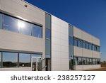 details of aluminum facade and... | Shutterstock . vector #238257127