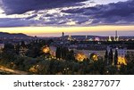 vienna at the danube canal at... | Shutterstock . vector #238277077