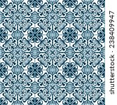 ornamental seamless pattern.... | Shutterstock .eps vector #238409947