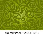 floral background  green | Shutterstock .eps vector #23841331
