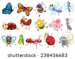 illustration of a set of... | Shutterstock .eps vector #238436683