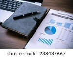 showing business and financial...   Shutterstock . vector #238437667