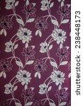 flowers wallpaper design on wall | Shutterstock . vector #238448173