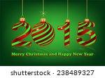 elegant new year 2015 ... | Shutterstock .eps vector #238489327