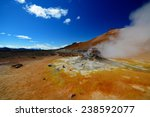 hverir iceland | Shutterstock . vector #238592077