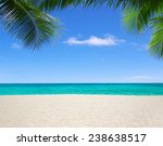 beach and tropical sea | Shutterstock . vector #238638517