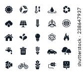 ecology and environment icons... | Shutterstock .eps vector #238647937