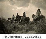 apaches. before the storm  four ... | Shutterstock . vector #238814683