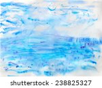 abstract watercolor image of...   Shutterstock .eps vector #238825327
