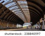 Train Station In York  Uk