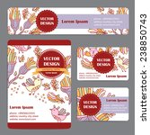 corporate identity vector... | Shutterstock .eps vector #238850743