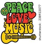 Reggae Inspired Peace Love...