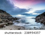 Sunrise At Penberth Cove A...