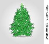 christmas tree. vector... | Shutterstock .eps vector #238983853