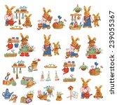 lovely rabbit | Shutterstock . vector #239055367