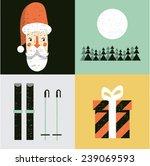 vector illustration icon set of ... | Shutterstock .eps vector #239069593