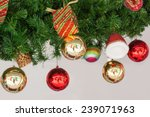 accessories christmas and happy ... | Shutterstock . vector #239071963