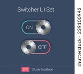 ui flat sliders  controls...