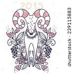 new year illustration of a... | Shutterstock .eps vector #239115883