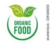 organic food | Shutterstock .eps vector #239186053
