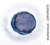 art watercolor blue gray circle ...   Shutterstock . vector #239196073