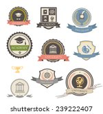 university  college and academy ... | Shutterstock .eps vector #239222407