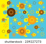 sea turtle | Shutterstock .eps vector #239227273