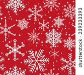 seamless pattern with white...   Shutterstock . vector #239233393