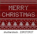 christmas background with... | Shutterstock .eps vector #239272927