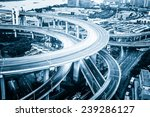 shanghai elevated road junction ... | Shutterstock . vector #239286127