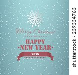christmas background with... | Shutterstock .eps vector #239334763