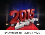2014 and 2015 against cool... | Shutterstock . vector #239347423