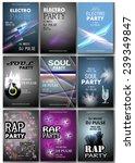 music placard template   vector ...   Shutterstock .eps vector #239349847