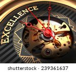 excellence on black golden... | Shutterstock . vector #239361637