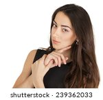 young casual woman portrait... | Shutterstock . vector #239362033