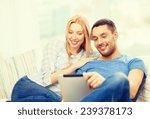 love  family  technology ... | Shutterstock . vector #239378173