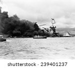 Pearl Harbor  Wreckage Of Uss...